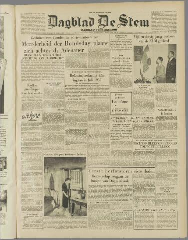 de Stem 1954-10-08
