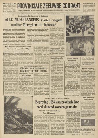 Provinciale Zeeuwse Courant 1957-12-06