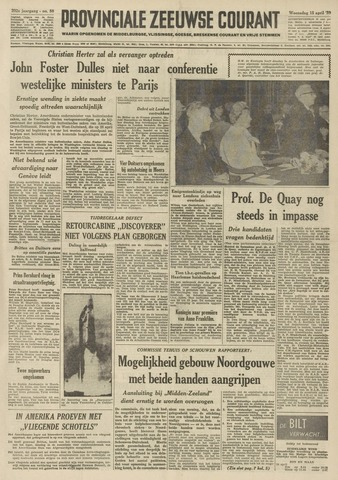 Provinciale Zeeuwse Courant 1959-04-15