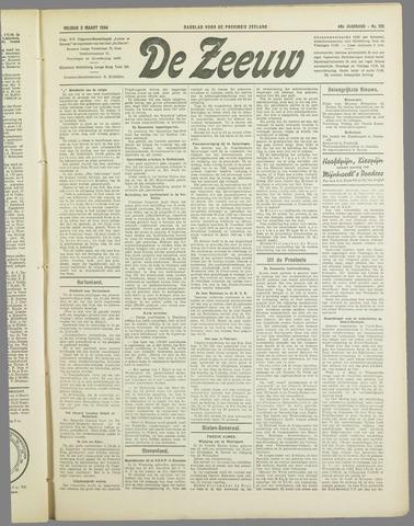 De Zeeuw. Christelijk-historisch nieuwsblad voor Zeeland 1934-03-02