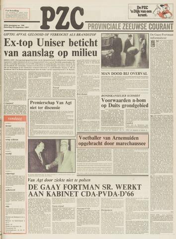 Provinciale Zeeuwse Courant 1981-08-22