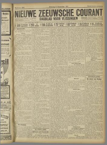 Nieuwe Zeeuwsche Courant 1921-11-08