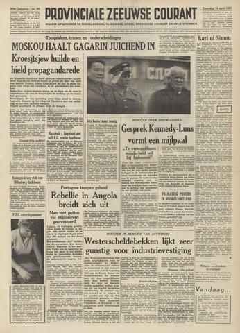 Provinciale Zeeuwse Courant 1961-04-15