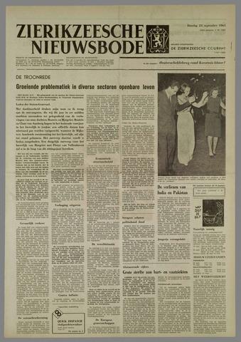 Zierikzeesche Nieuwsbode 1965-09-21