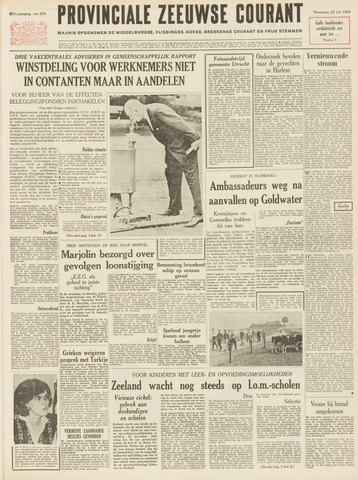 Provinciale Zeeuwse Courant 1964-07-22