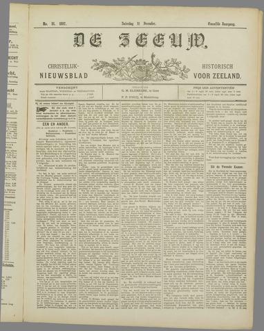 De Zeeuw. Christelijk-historisch nieuwsblad voor Zeeland 1897-12-11
