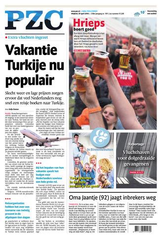Provinciale Zeeuwse Courant 2016-04-29
