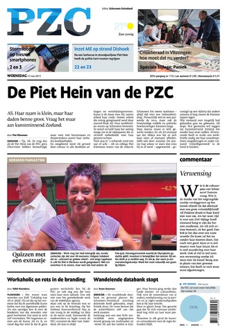 Provinciale Zeeuwse Courant 2015-05-13