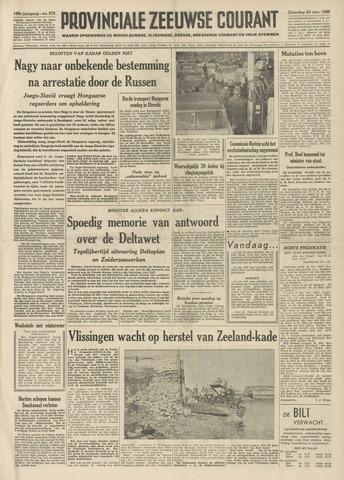 Provinciale Zeeuwse Courant 1956-11-24