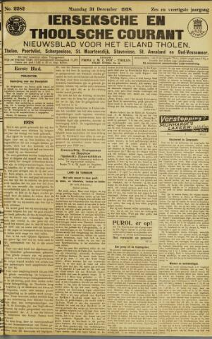 Ierseksche en Thoolsche Courant 1928-12-31