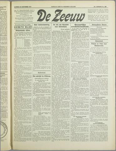 De Zeeuw. Christelijk-historisch nieuwsblad voor Zeeland 1937-09-25