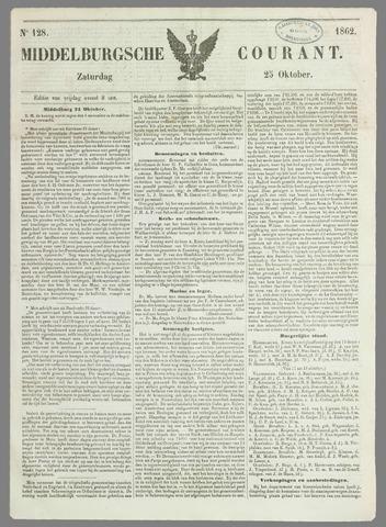 Middelburgsche Courant 1862-10-25