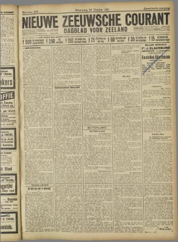 Nieuwe Zeeuwsche Courant 1921-10-26