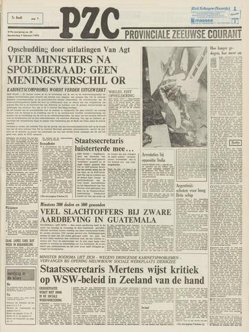Provinciale Zeeuwse Courant 1976-02-05