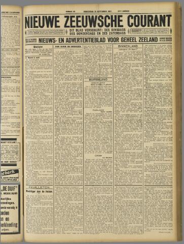 Nieuwe Zeeuwsche Courant 1927-09-15