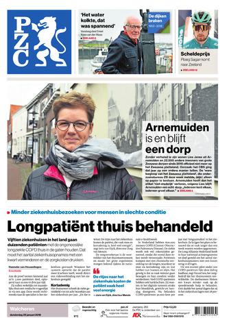 Provinciale Zeeuwse Courant 2018-01-25