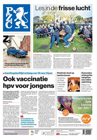 Provinciale Zeeuwse Courant 2019-09-27