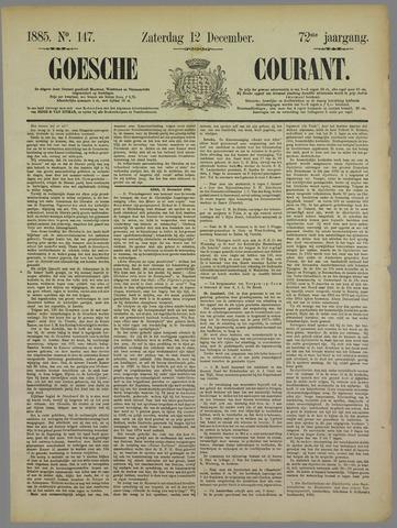Goessche Courant 1885-12-12