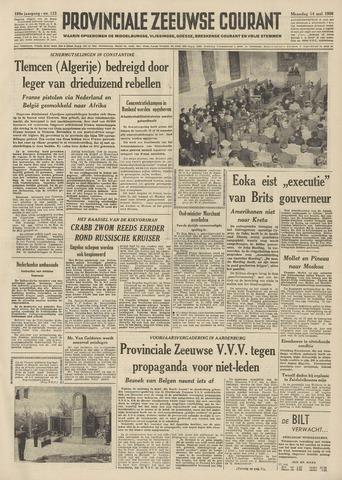 Provinciale Zeeuwse Courant 1956-05-14