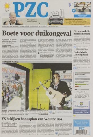 Provinciale Zeeuwse Courant 2009-04-03