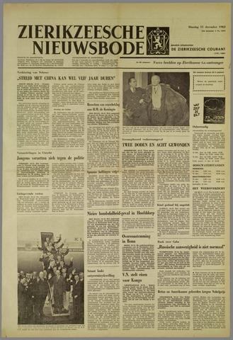 Zierikzeesche Nieuwsbode 1962-12-11