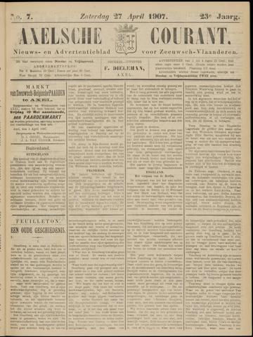 Axelsche Courant 1907-04-27