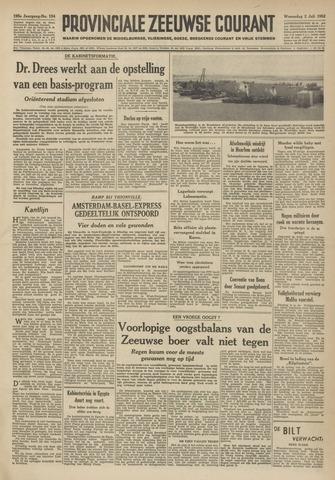 Provinciale Zeeuwse Courant 1952-07-02