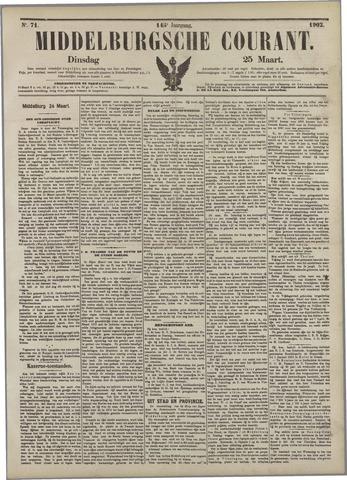 Middelburgsche Courant 1902-03-25