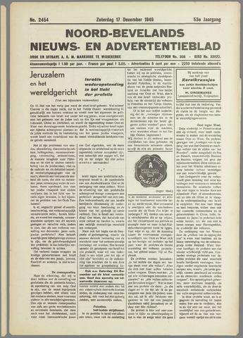 Noord-Bevelands Nieuws- en advertentieblad 1949-12-17