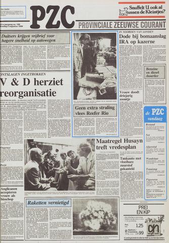 Provinciale Zeeuwse Courant 1988-08-02