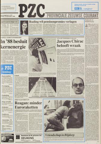 Provinciale Zeeuwse Courant 1986-09-19