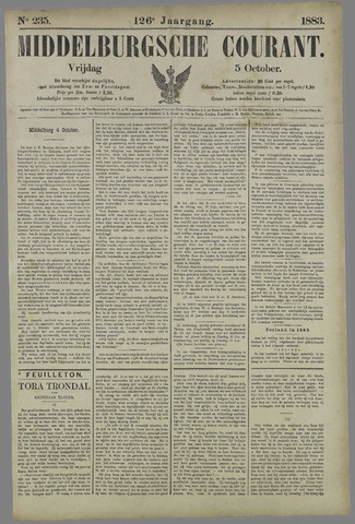 Middelburgsche Courant 1883-10-05