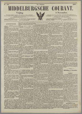 Middelburgsche Courant 1897-11-05