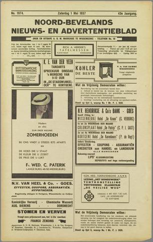 Noord-Bevelands Nieuws- en advertentieblad 1937-05-01
