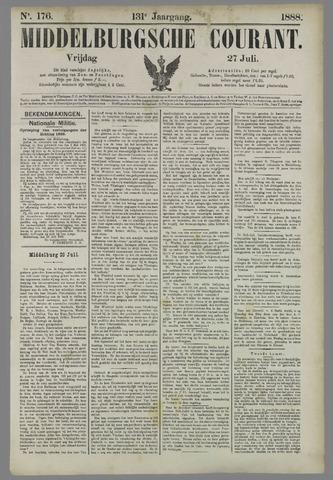 Middelburgsche Courant 1888-07-27