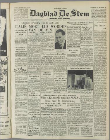 de Stem 1951-09-27