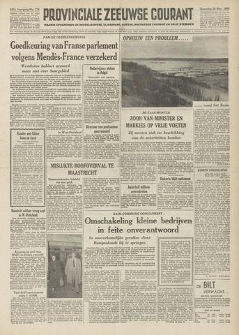 Provinciale Zeeuwse Courant 1954-11-20