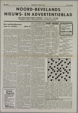 Noord-Bevelands Nieuws- en advertentieblad 1984-10-04
