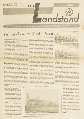 De landstand in Zeeland, geïllustreerd weekblad. 1943-12-17