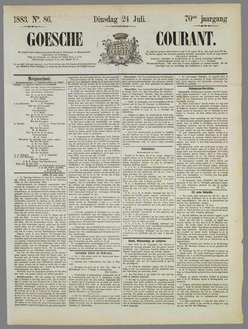 Goessche Courant 1883-07-24