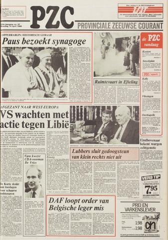 Provinciale Zeeuwse Courant 1986-04-14