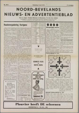 Noord-Bevelands Nieuws- en advertentieblad 1974-07-18