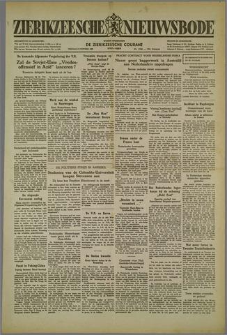 Zierikzeesche Nieuwsbode 1952-10-03