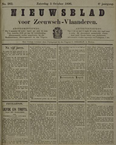 Nieuwsblad voor Zeeuwsch-Vlaanderen 1896-10-03