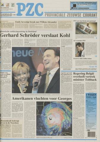 Provinciale Zeeuwse Courant 1998-09-28