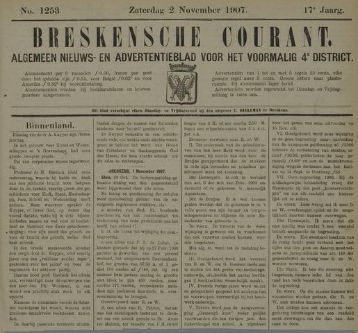 Breskensche Courant 1907-11-02