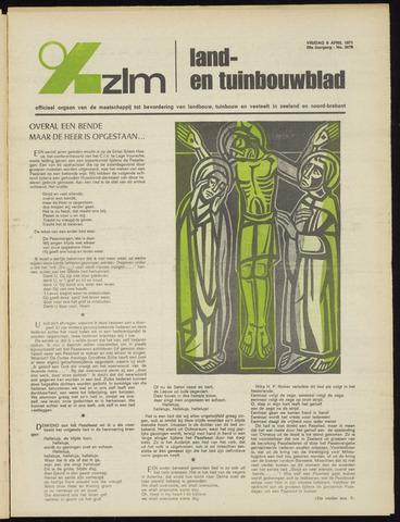 Zeeuwsch landbouwblad ... ZLM land- en tuinbouwblad 1971-04-09