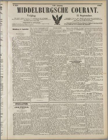 Middelburgsche Courant 1903-09-11