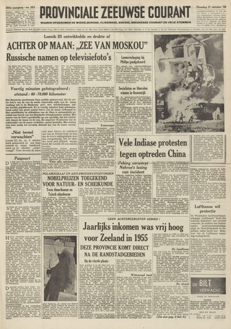 Provinciale Zeeuwse Courant 1959-10-27