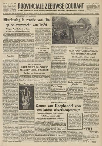 Provinciale Zeeuwse Courant 1953-10-29